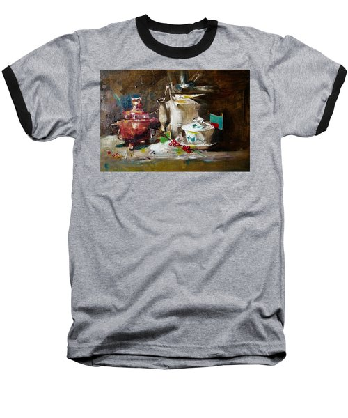Tea Time Baseball T-Shirt