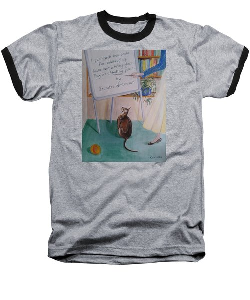 Teacher's Pet Baseball T-Shirt by Veronica Rickard