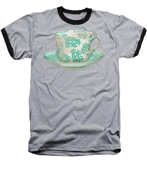 Teacup Garden Party 1 Baseball T-Shirt