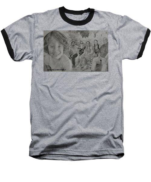 Teagan And Her Family Baseball T-Shirt