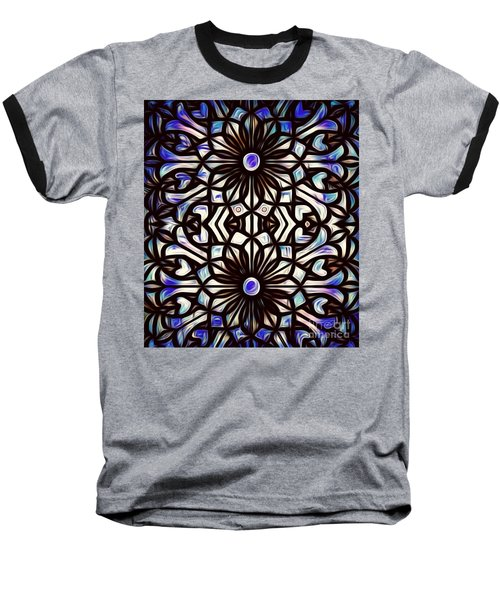 Teal Purple Vibe Baseball T-Shirt