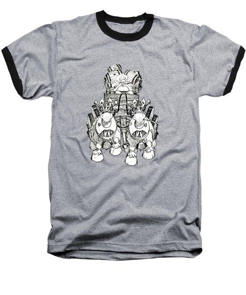 Team Baseball T-Shirt by Julio Lopez