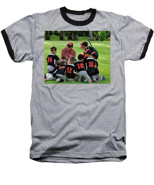 Team Meeting 9736 Baseball T-Shirt