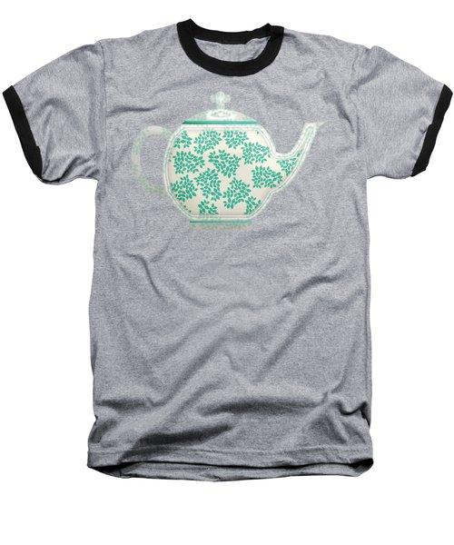 Teapot Garden Party 1 Baseball T-Shirt