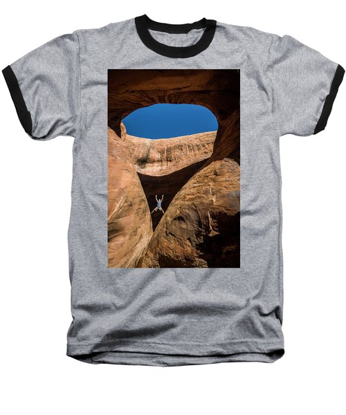 Teardrop Arch Baseball T-Shirt
