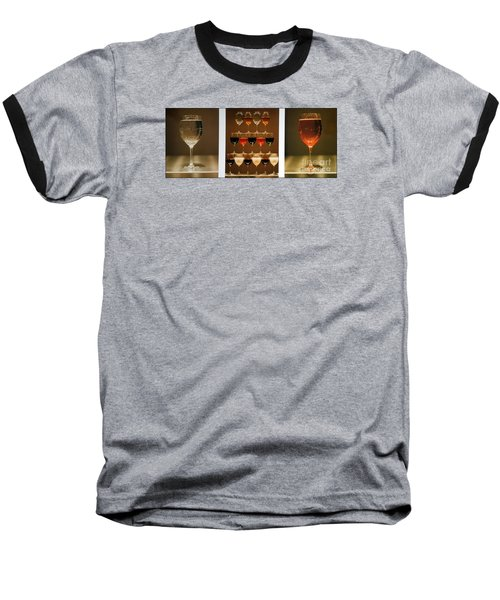 Baseball T-Shirt featuring the photograph Tears And Wine by James Lanigan Thompson MFA