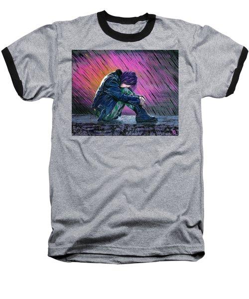 Tears In The Rain Baseball T-Shirt