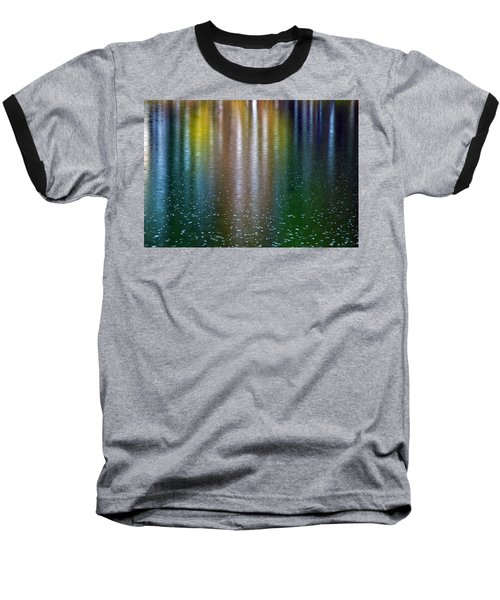 Tears On A Rainbow Baseball T-Shirt by John Haldane