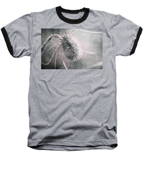 Baseball T-Shirt featuring the photograph Teazel Weed by Tom Mc Nemar