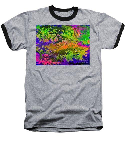 Technicolor Leaves Baseball T-Shirt