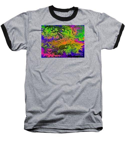 Technicolor Leaves Baseball T-Shirt