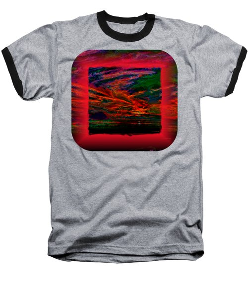 Technicolor Sunset 2 Baseball T-Shirt
