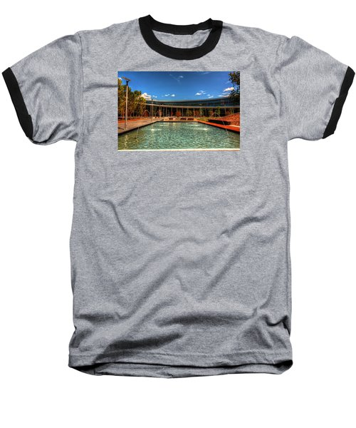 Technology Center Of Excellence Baseball T-Shirt by Ester  Rogers