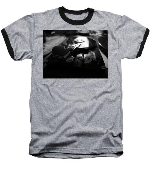 Technology Baseball T-Shirt by John Rossman
