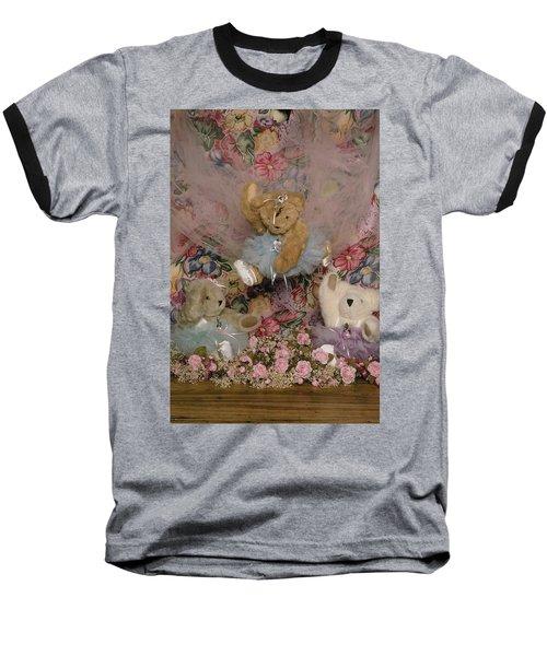 Teddy Bear Dancers Baseball T-Shirt
