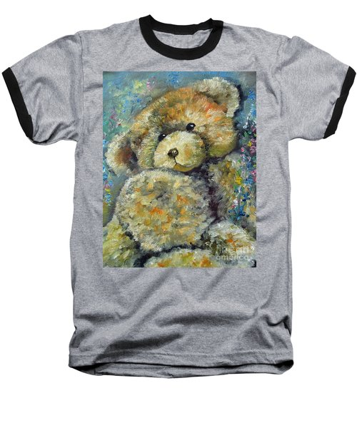 Teddy Bear Baseball T-Shirt