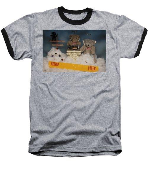 Teddy Bears In Heaven Baseball T-Shirt