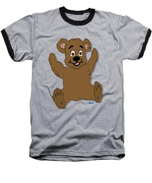 Teddy's First Portrait Baseball T-Shirt