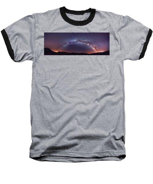 Teide Milky Way Baseball T-Shirt