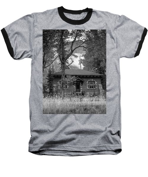 Telegraph Station Baseball T-Shirt
