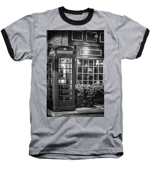 Telephone Booth Baseball T-Shirt