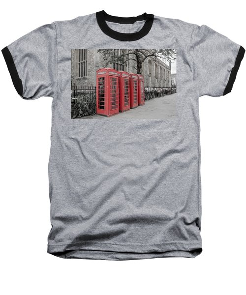 Telephone Boxes Baseball T-Shirt