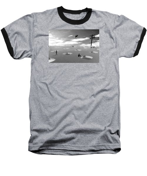 Baseball T-Shirt featuring the photograph Telephone Line by Christopher Woods