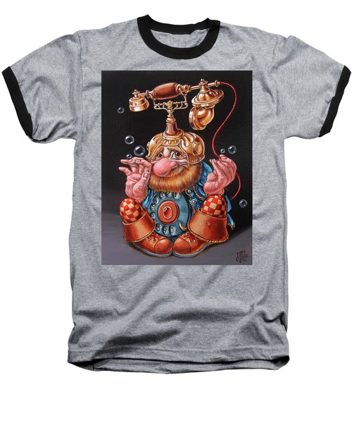Telephonic Baseball T-Shirt