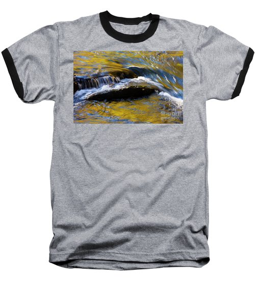 Baseball T-Shirt featuring the photograph Tellico River - D010004 by Daniel Dempster