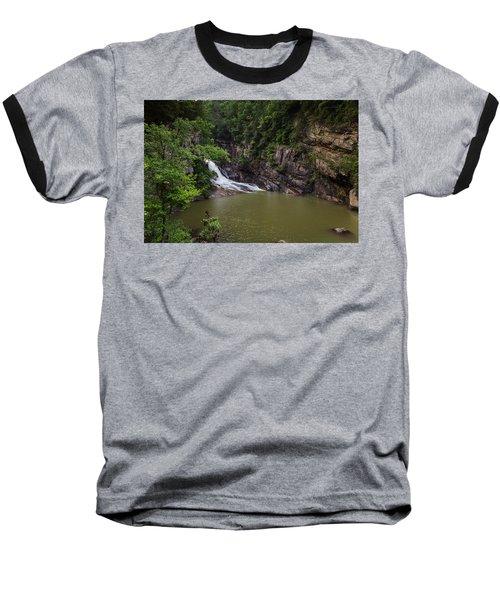 Tallulah Gorge Falls Baseball T-Shirt