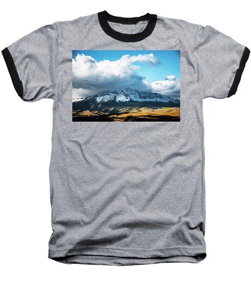Telluride Colorado In The Fall Baseball T-Shirt