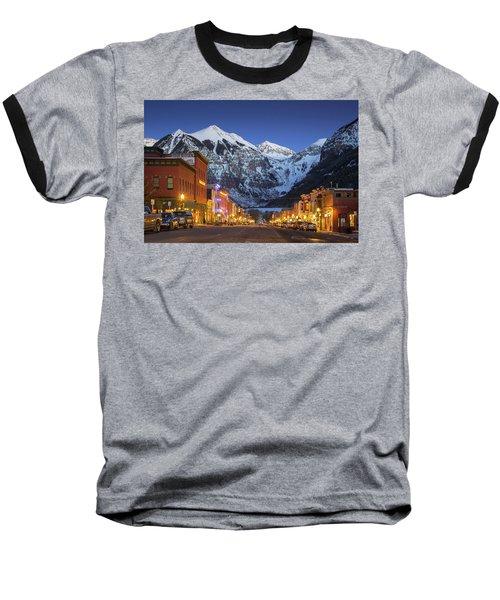 Telluride Main Street 3 Baseball T-Shirt