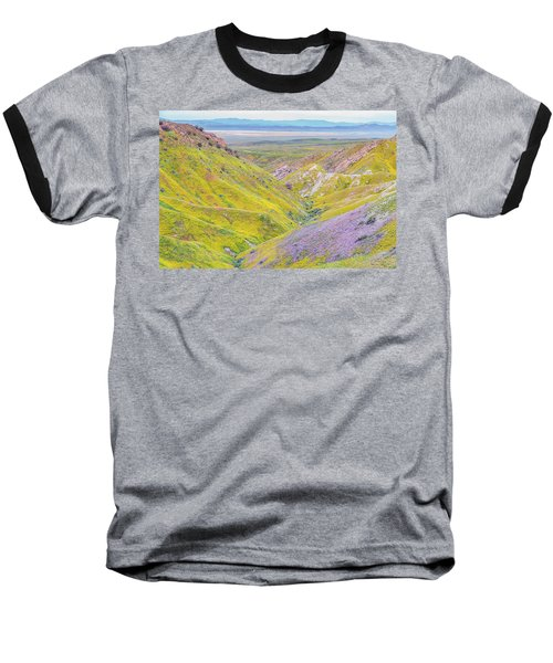 Baseball T-Shirt featuring the photograph Temblor Range View To Caliente Range by Marc Crumpler