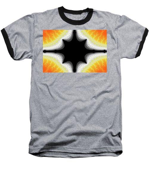 Fractal 7 Center 2x3 Baseball T-Shirt