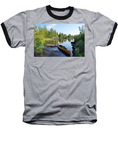 Temperance River Portage Baseball T-Shirt