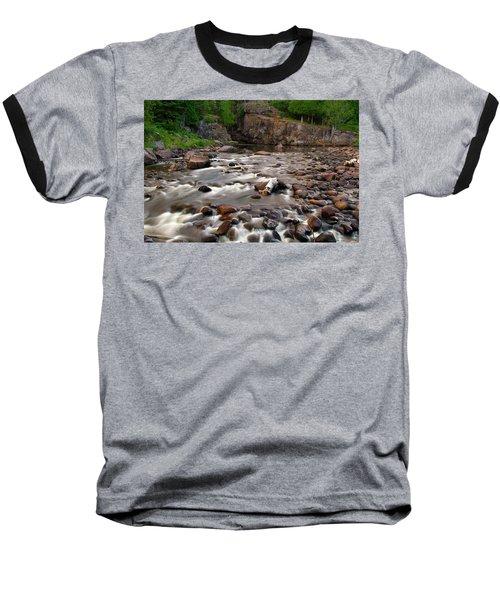 Temperance River Baseball T-Shirt by Steve Stuller