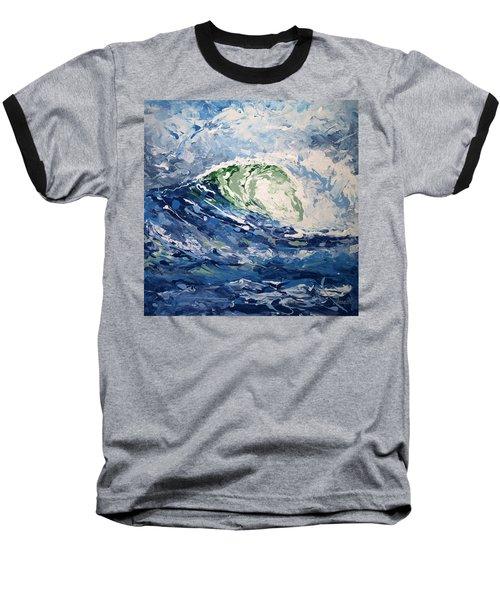 Tempest Abstract Baseball T-Shirt