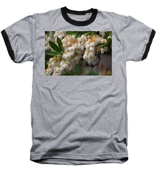 Baseball T-Shirt featuring the photograph Temple Bells Andromedia by Chris Flees