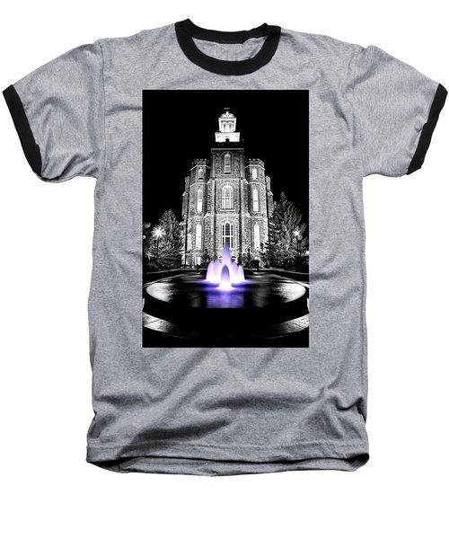 Temple Fountain  Baseball T-Shirt