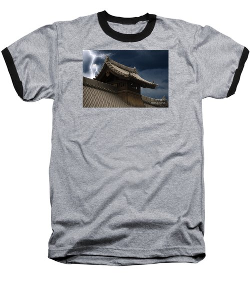 Temple In The Sky Baseball T-Shirt