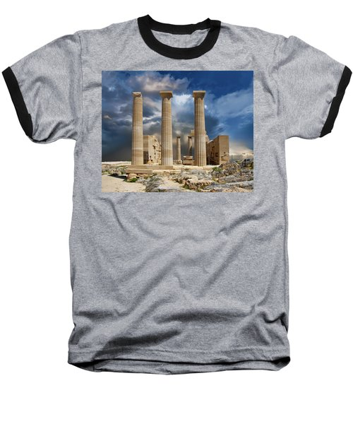 Temple Of Athena Baseball T-Shirt