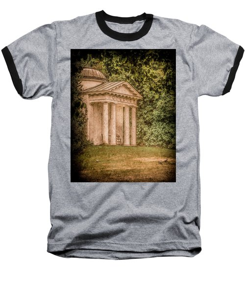 Kew Gardens, England - Temple Of Bellona Baseball T-Shirt