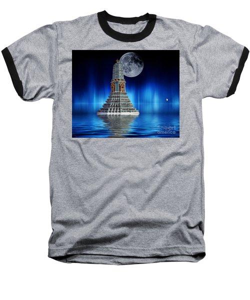 Temple Of The Moon Baseball T-Shirt