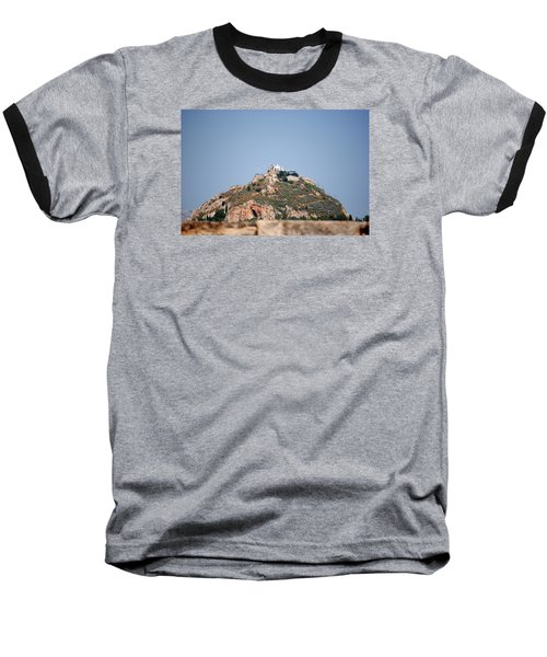 Temple Of Zeus Baseball T-Shirt by Robert Moss