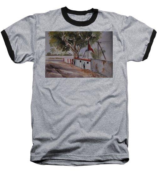Temple Scene1 Baseball T-Shirt