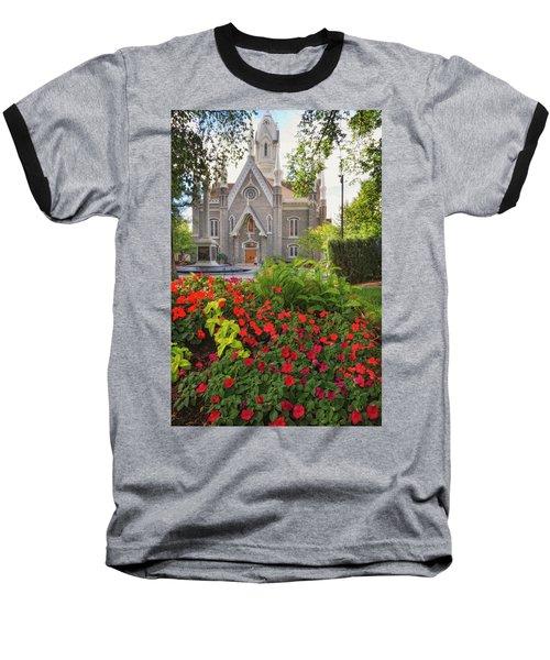 Temple Square Flowers Baseball T-Shirt