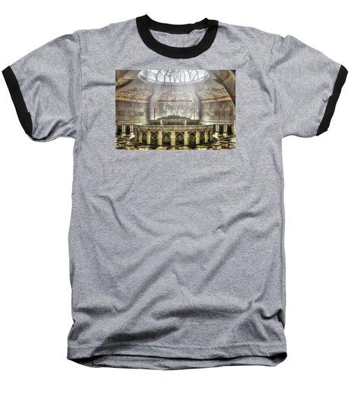 Temple Washroom Baseball T-Shirt