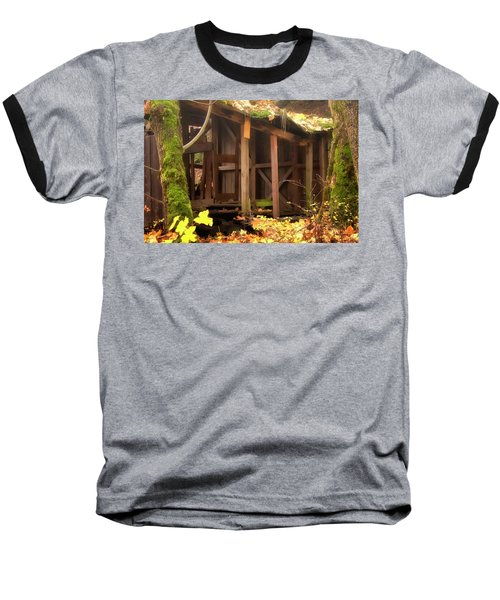 Baseball T-Shirt featuring the photograph Temporary Shelter by Albert Seger