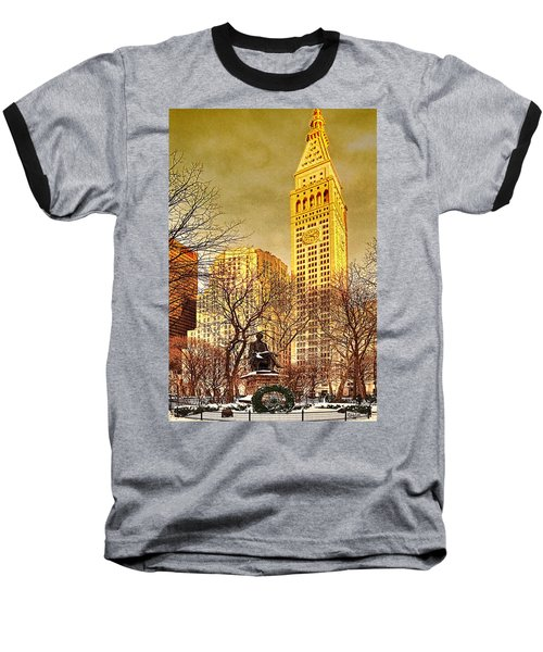 Ten Past Four At Madison Square Park Baseball T-Shirt