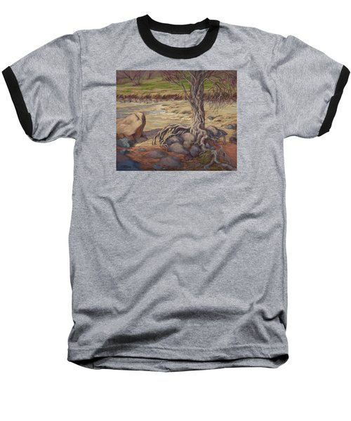 Tenacity Baseball T-Shirt by Jane Thorpe